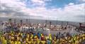 Патриотический флешмоб ко дню Конституции в Одессе
